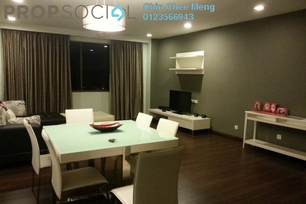 For Rent Condominium at Tivoli Villas, Bangsar Freehold Fully Furnished 2R/2B 3.5k