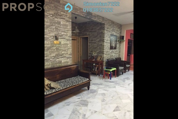 For Sale Apartment at Sutramas, Bandar Puchong Jaya Freehold Semi Furnished 3R/2B 390k