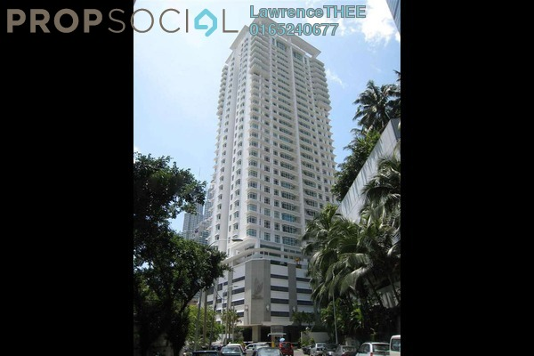 For Rent Condominium at Binjai Residency, KLCC Freehold Semi Furnished 3R/4B 7k
