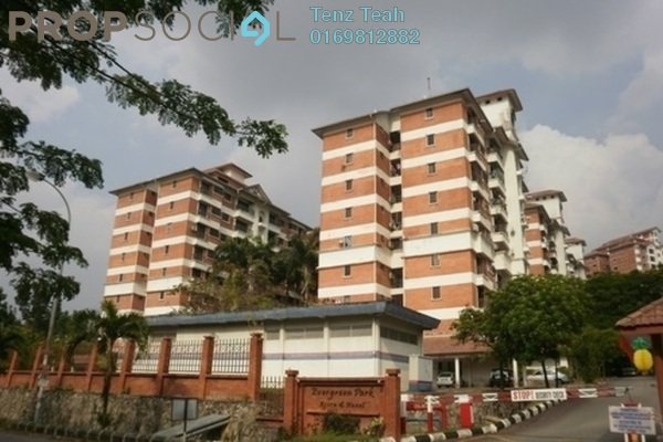 For Rent Condominium at Evergreen Park, Bandar Sungai Long Freehold Fully Furnished 3R/2B 250translationmissing:en.pricing.unit