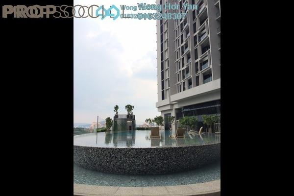 For Sale Condominium at Twin Arkz, Bukit Jalil Freehold Semi Furnished 4R/4B 2.2m