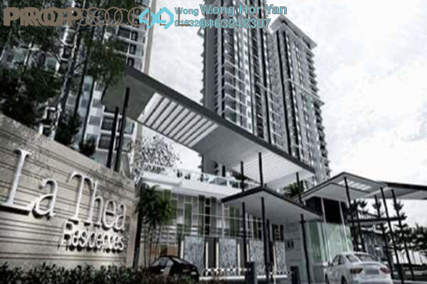 For Rent Condominium at La Thea Residences, 16 Sierra Leasehold Semi Furnished 3R/2B 1.5k