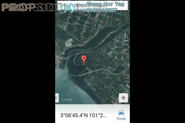 For Sale Land at Taman Sentosa, Kapar Freehold Unfurnished 0R/0B 450k