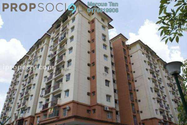 For Sale Apartment at Metro Prima, Kepong Leasehold Semi Furnished 3R/2B 345k