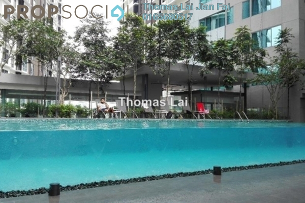 For Sale Serviced Residence at Summer Suites, KLCC Leasehold Semi Furnished 0R/1B 550k