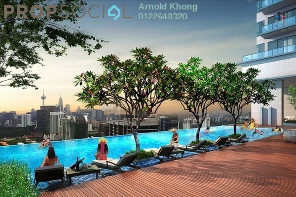 For Sale Condominium at Nadi Bangsar, Bangsar Freehold Semi Furnished 1R/1B 980k