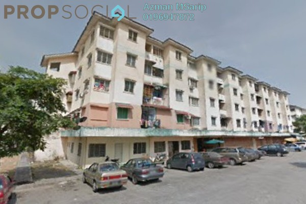 For Sale Apartment at Bandar Baru Kundang, Rawang Leasehold Unfurnished 3R/1B 75k