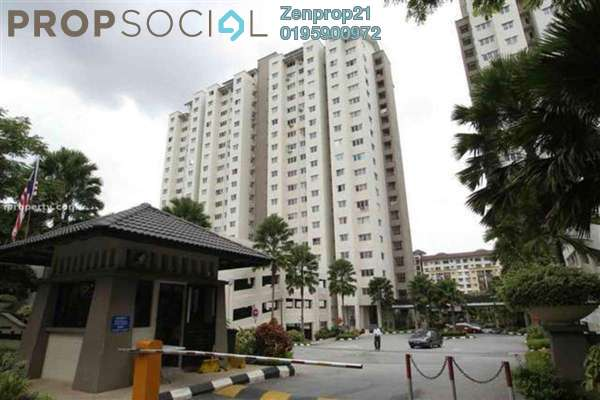 For Sale Condominium at Danau Murni, Taman Desa Leasehold Semi Furnished 3R/2B 330k