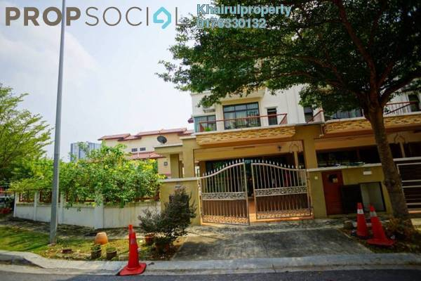 For Sale Terrace at Sentosa Villas, Kajang Leasehold Semi Furnished 4R/4B 990k