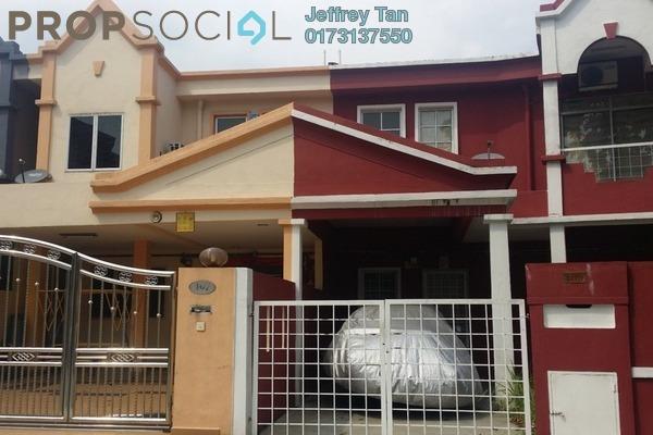 For Sale Terrace at Taman Bayu Perdana, Klang Freehold Unfurnished 4R/3B 500k