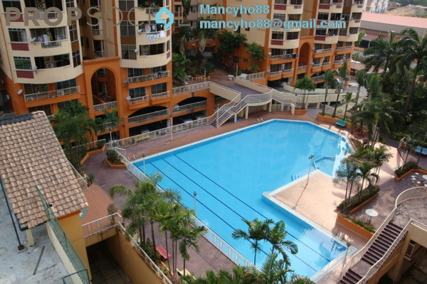 For Sale Condominium at Sri Desa, Kuchai Lama Freehold Semi Furnished 3R/2B 460k