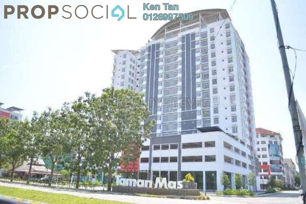 For Sale Condominium at Calisa Residences, Puchong Leasehold Semi Furnished 3R/2B 430k