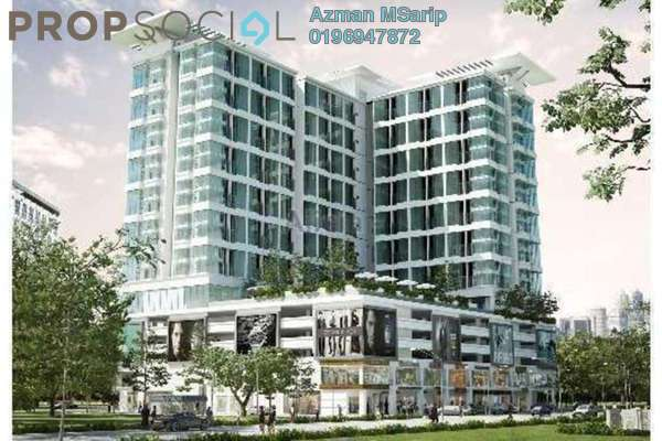 For Rent SoHo/Studio at Section 14, Shah Alam Freehold Semi Furnished 0R/2B 1.5k