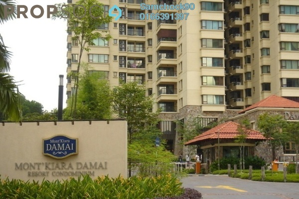 For Sale Condominium at Mont Kiara Damai, Mont Kiara Freehold Fully Furnished 5R/4B 2.4m