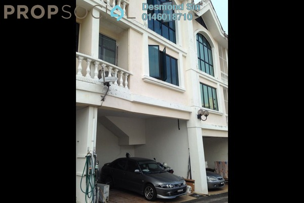 For Sale Townhouse at Krystal Court, Sungai Nibong Freehold Semi Furnished 4R/3B 850k