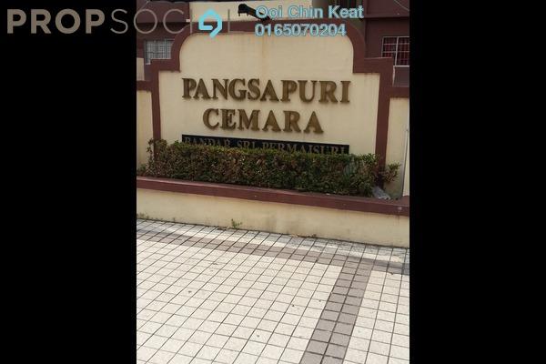 For Sale Condominium at Cemara Apartment, Bandar Sri Permaisuri Leasehold Unfurnished 3R/2B 310k