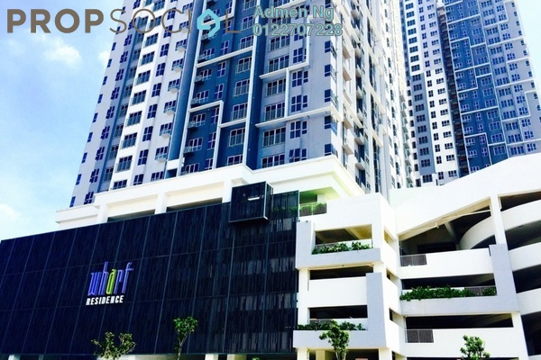 For Rent Condominium at The Wharf, Puchong Leasehold Semi Furnished 3R/2B 2.2k