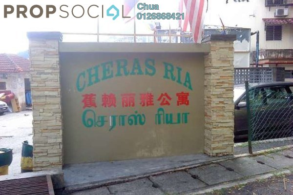 For Rent Apartment at Cheras Ria, Cheras Freehold Semi Furnished 3R/1B 700translationmissing:en.pricing.unit