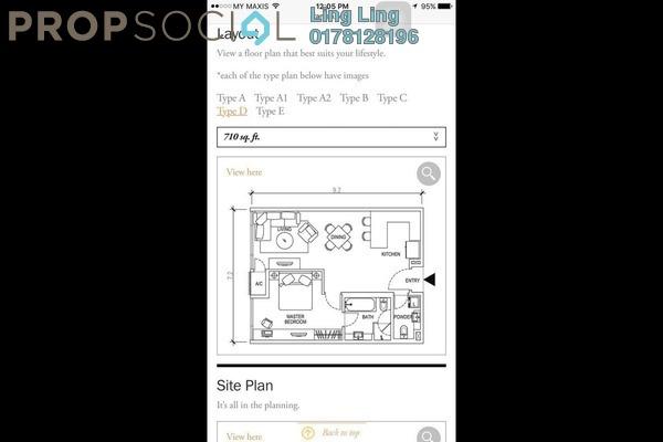 For Rent SoHo/Studio at Three28 Tun Razak, KLCC Freehold Fully Furnished 1R/1B 3k