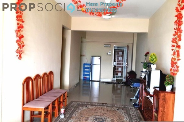 For Sale Condominium at Kepong Central Condominium, Kepong Leasehold Semi Furnished 3R/2B 290k
