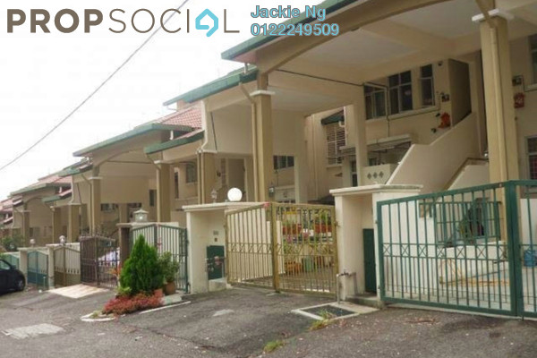 For Rent Terrace at Taman Lagenda Mas, Cheras South Freehold Semi Furnished 3R/2B 1.2k
