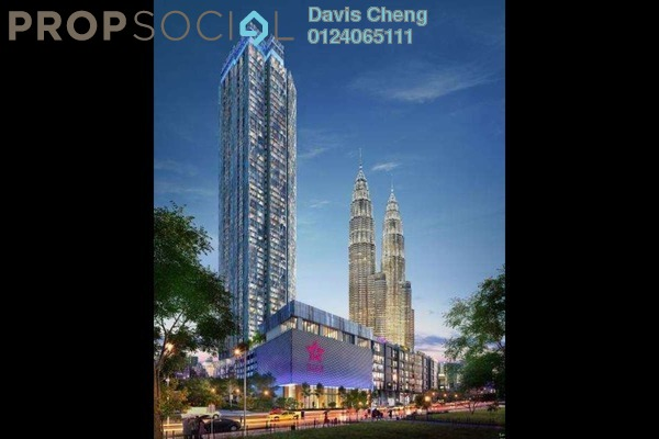 For Sale Condominium at Star Residences, Kuala Lumpur Leasehold Semi Furnished 3R/2B 1.71m