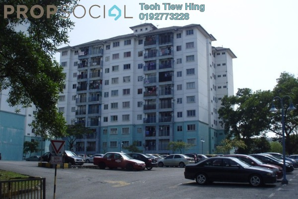 For Sale Condominium at Akasia Apartment, Pusat Bandar Puchong Freehold Semi Furnished 3R/2B 370k