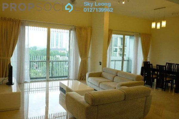 For Rent Serviced Residence at Dua Residency, KLCC Freehold Fully Furnished 4R/4B 7k