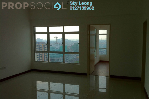 For Rent Condominium at 1 Desa Residence, Taman Desa Freehold Semi Furnished 3R/2B 1.8千