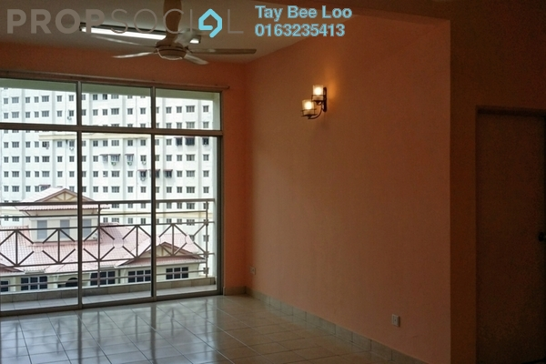 For Rent Condominium at Taman LTAT, Bukit Jalil Freehold Semi Furnished 3R/2B 1.05k