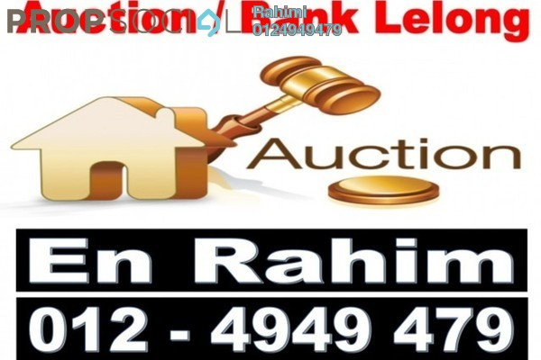 For Sale Condominium at Mawar Apartment, Sentul Leasehold Semi Furnished 3R/2B 284k