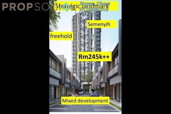 For Sale Condominium at Semenyih Sentral, Semenyih Freehold Unfurnished 1R/1B 245k