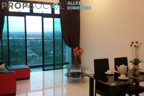 For Rent Condominium at Taman Bukit Indah, Bukit Indah Freehold Fully Furnished 2R/1B 2.2k