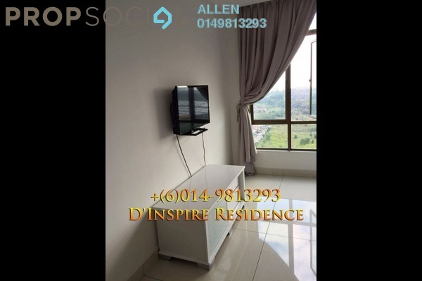 For Rent Condominium at D'Inspire Residence, Skudai Freehold Fully Furnished 3R/2B 1.8k