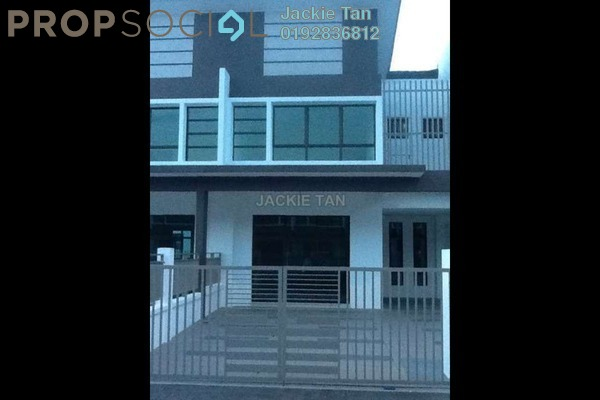 For Rent Terrace at Lakeside Residences, Puchong Leasehold Semi Furnished 4R/3B 1.8k