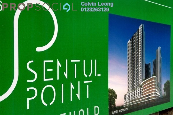 For Sale Condominium at Sentul Point, Sentul Freehold Unfurnished 3R/2B 421k