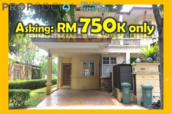 For Sale Terrace at Precinct 9, Putrajaya Freehold Semi Furnished 4R/3B 750k