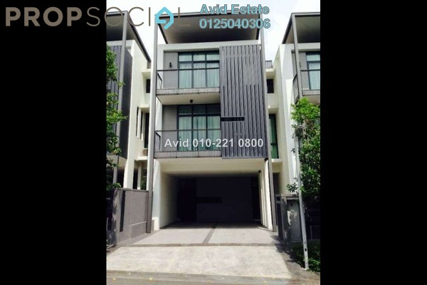 For Rent Terrace at Casaman, Desa ParkCity Freehold Fully Furnished 4R/4B 15k