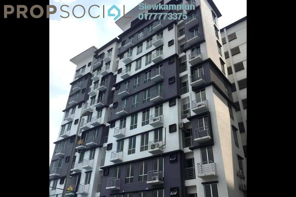 For Sale Apartment at Sunway Giza, Kota Damansara Leasehold Semi Furnished 3R/2B 450k
