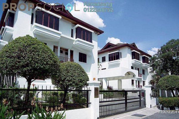 For Sale Condominium at Fernlea Court, Ampang Hilir Freehold Semi Furnished 3R/2B 2.15m