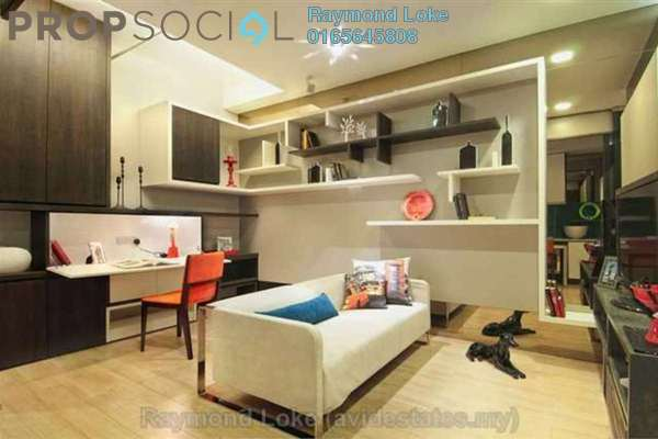 For Sale Condominium at VERVE Suites, Mont Kiara Freehold Fully Furnished 1R/1B 745k