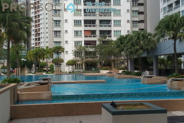 For Sale Condominium at Sterling, Kelana Jaya Leasehold Semi Furnished 5R/3B 990k