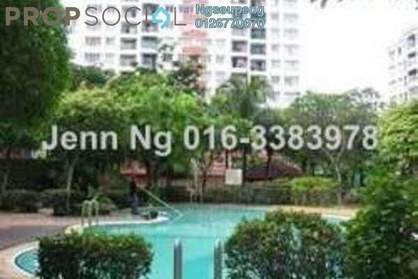 For Rent Apartment at Kenanga Apartment, Pusat Bandar Puchong Freehold Unfurnished 3R/2B 1.1k