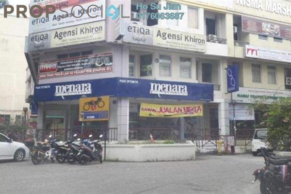 For Sale Shop at Kompleks Diamond, Bangi Leasehold Semi Furnished 0R/6B 1.6百万