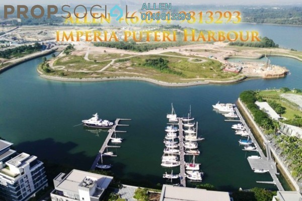 For Rent Condominium at Imperia, Puteri Harbour Freehold Semi Furnished 3R/4B 5k