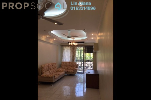 For Rent Condominium at Forest Green, Bandar Sungai Long Freehold Fully Furnished 3R/2B 1.7k