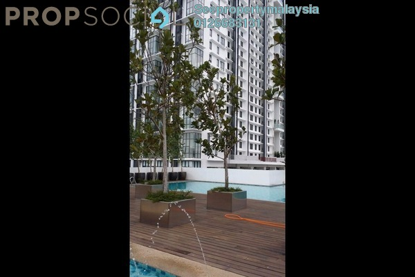For Rent Condominium at Paragon, Cyberjaya Freehold Fully Furnished 2R/1B 2k