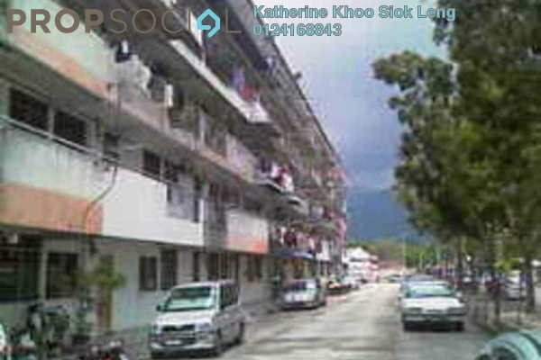 For Sale Apartment at Taman Han Chiang, Georgetown Freehold Semi Furnished 2R/1B 260k
