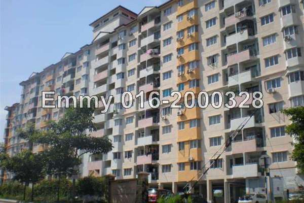 For Rent Apartment at Perdana Impian Apartment, Kajang Freehold Unfurnished 3R/2B 850translationmissing:malay.pricing.unit