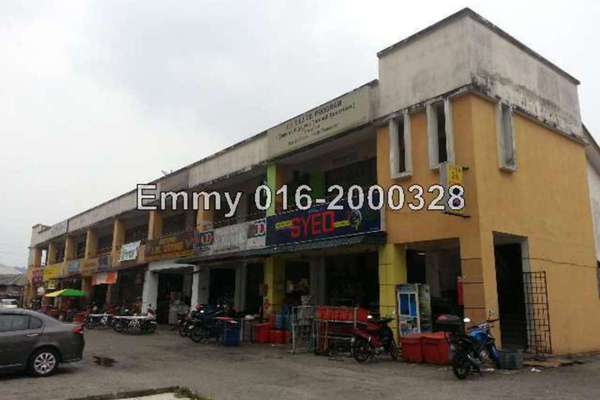 For Sale Shop at Enggang Apartment, Bandar Kinrara Freehold Unfurnished 0R/0B 650k